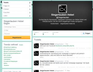 SG Hebel-Heibel ist bei Twitter.