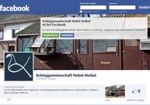 SG Hebel-Heibel ist bei Facebook vertreten